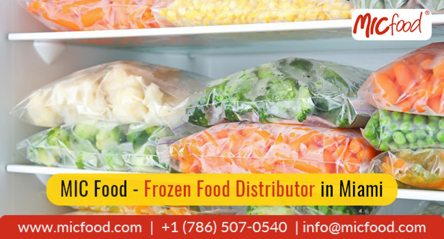 Why should you buy frozen foods for events? Infographic