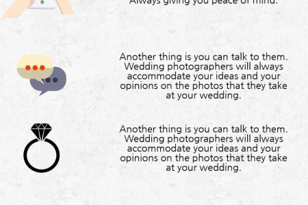 Why should you Hire a Wedding Photographer? Infographic