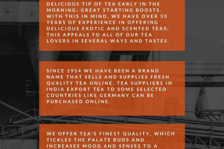 Why should you start your day with Tea  Infographic