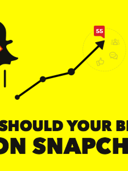 Why Should Your Brand be on Snapchat Infographic