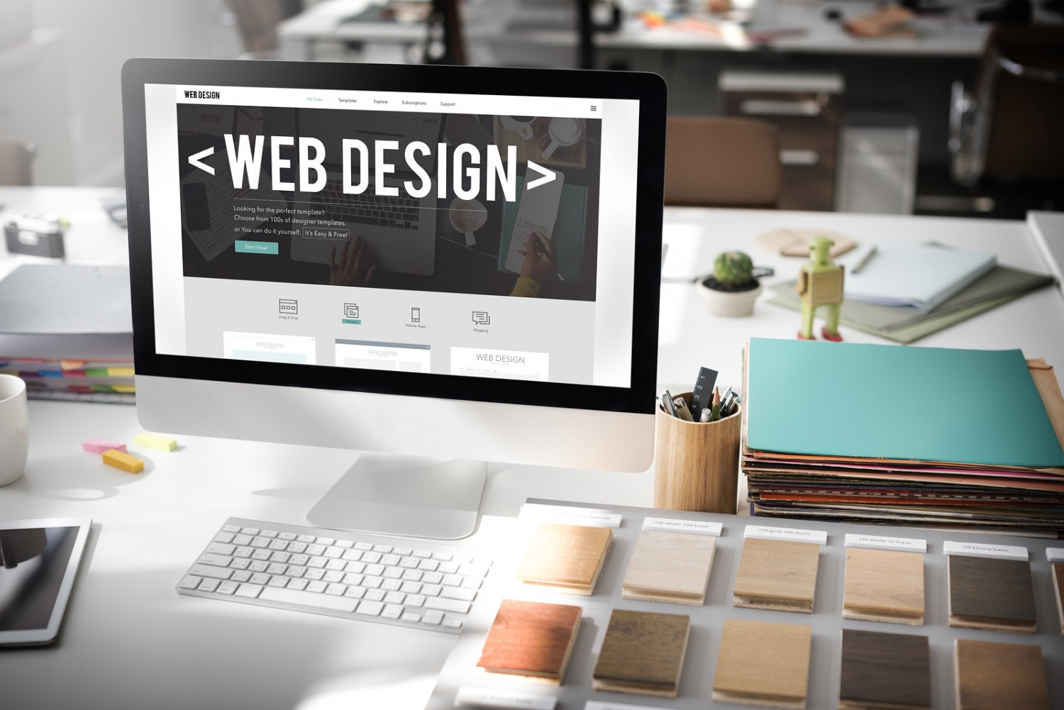 Why Small Businesses Need Web Design Services Infographic
