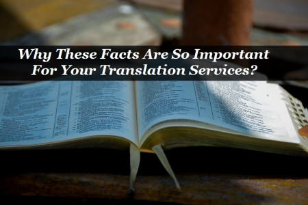 Why These Facts Are So Important For Your Translation Services? Infographic