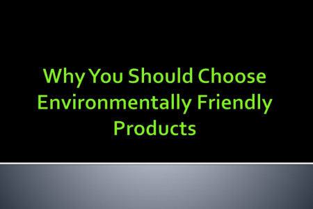 Why You Should Choose Environmentally Friendly Products Infographic