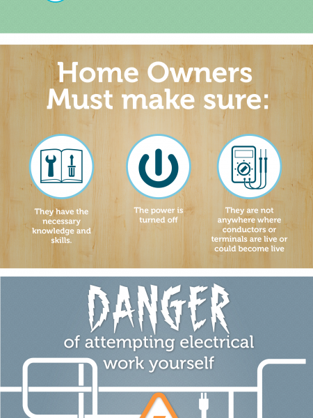 Why You Should Hire A Professional To Complete Your Electrical Work In Your Home Infographic