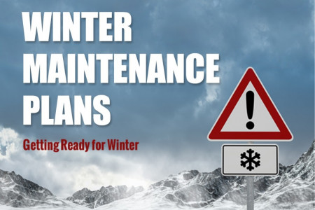 Why Your Business Needs a Winter Maintenance Plan Infographic