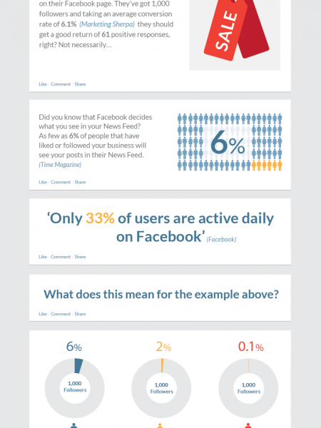 Why your Business shouldn't rely on Facebook Infographic