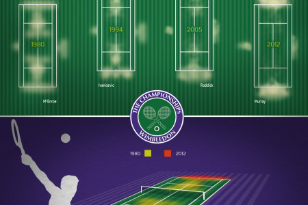 Wimbledon : Analysis of the Grass Deterioration Infographic