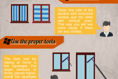 Window Cleaning Tips Infographic