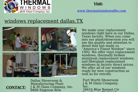 windows replacement DALLAS,TX Infographic