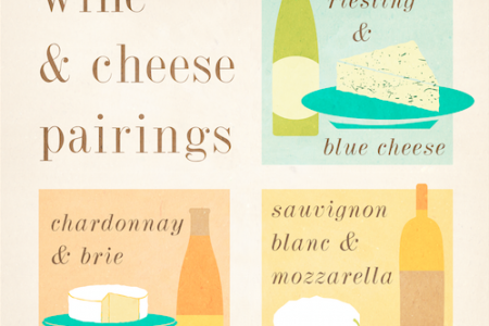 Wine & Cheese Pairings Infographic