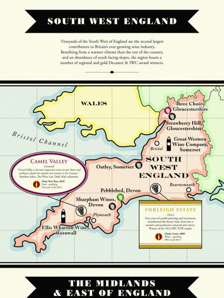 Wine Lover's Guide to the UK Infographic