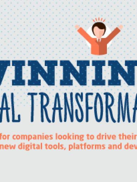 Winning at digital transformation – keys to success and some pitfalls to avoid Infographic