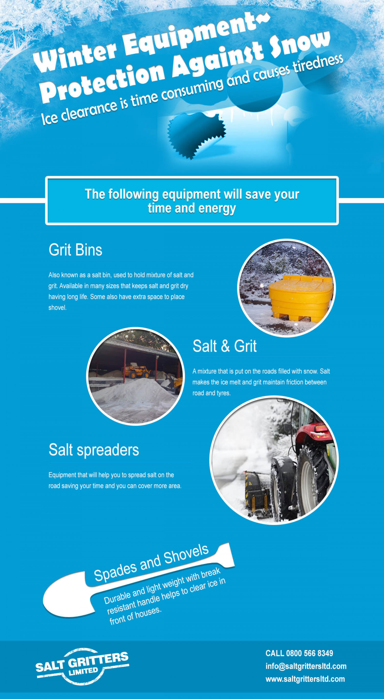 Winter Equipment: Protection Against Snow Infographic