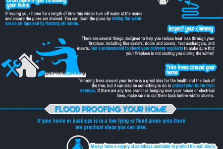 Winter Proof your Home Infographic