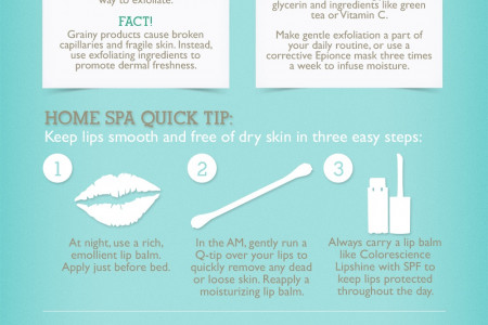 Winter Skin Care Infographic