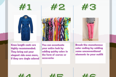 Winter Time Fashion For Women Infographic