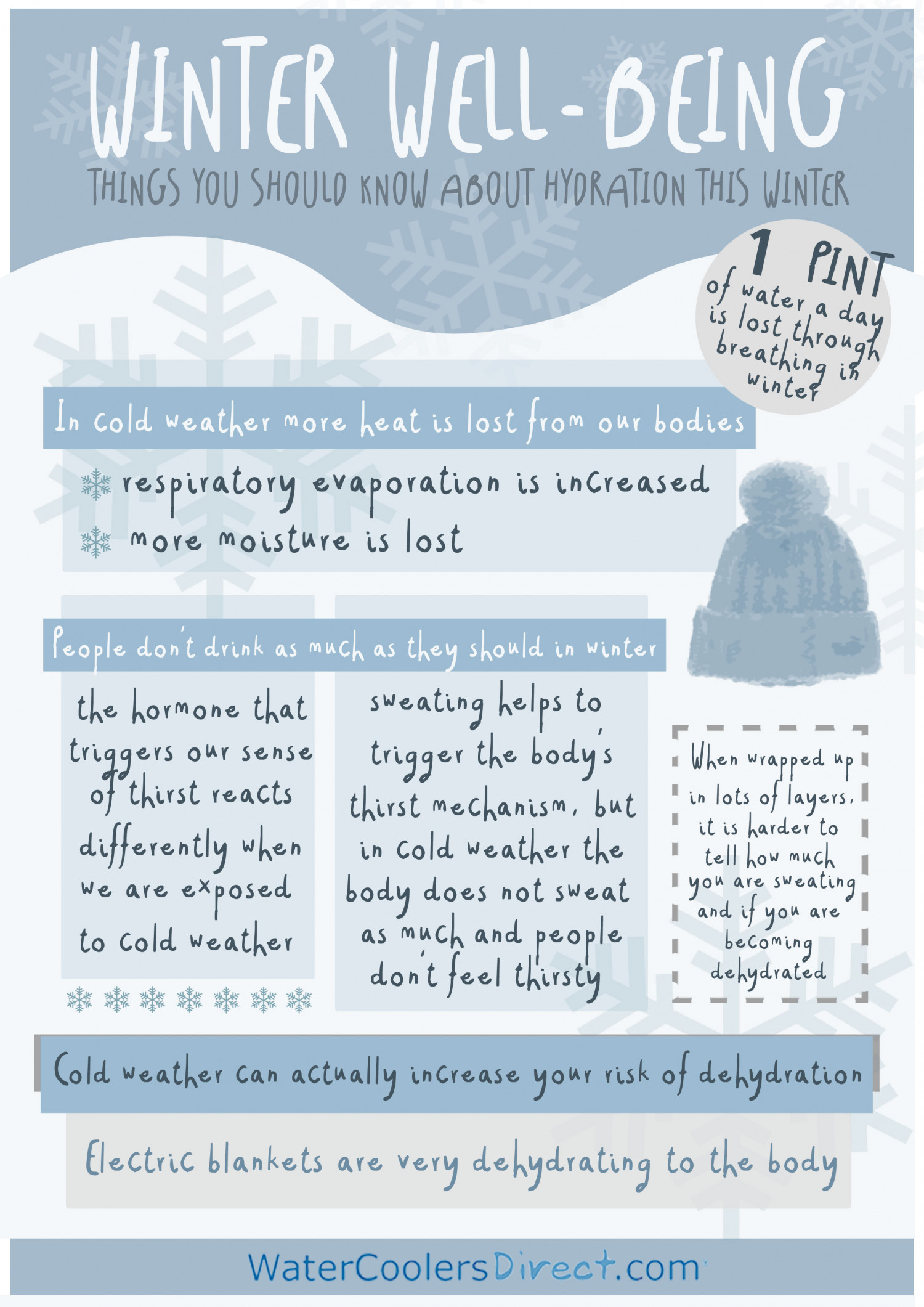Winter Well-being Infographic