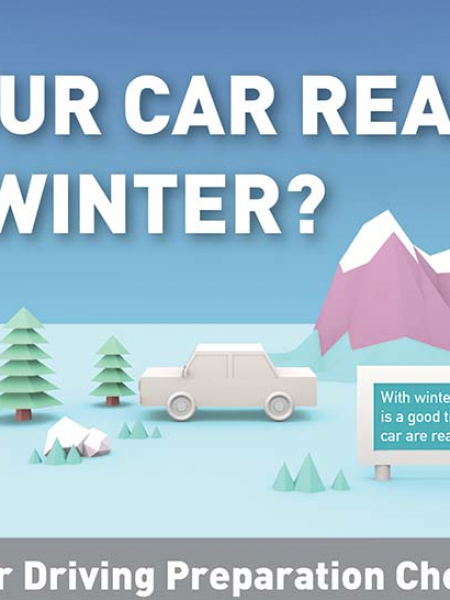 Winterize Your Car For Winter Infographic