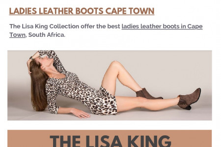 Women's Boots in Cape Town Infographic