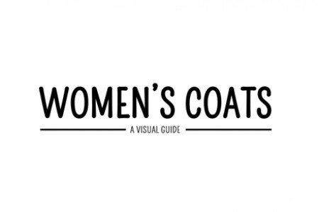 Women's Coats Visual Guide Infographic Infographic