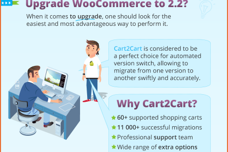 WooCommerce Upgrade to 2.2. Why and How Infographic