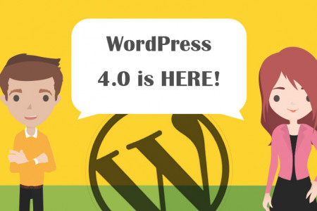 WordPress 4.0 Is Officially Released  Infographic
