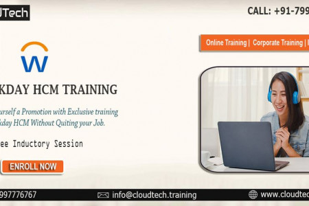 Workday Hcm Training - CloudTech Infographic