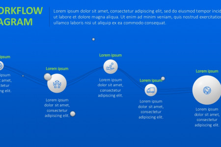 Workflow PowerPoint Template | Free Download Infographic