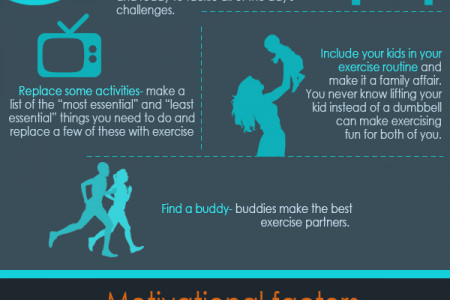 Workout Tips for Busy Mom Infographic