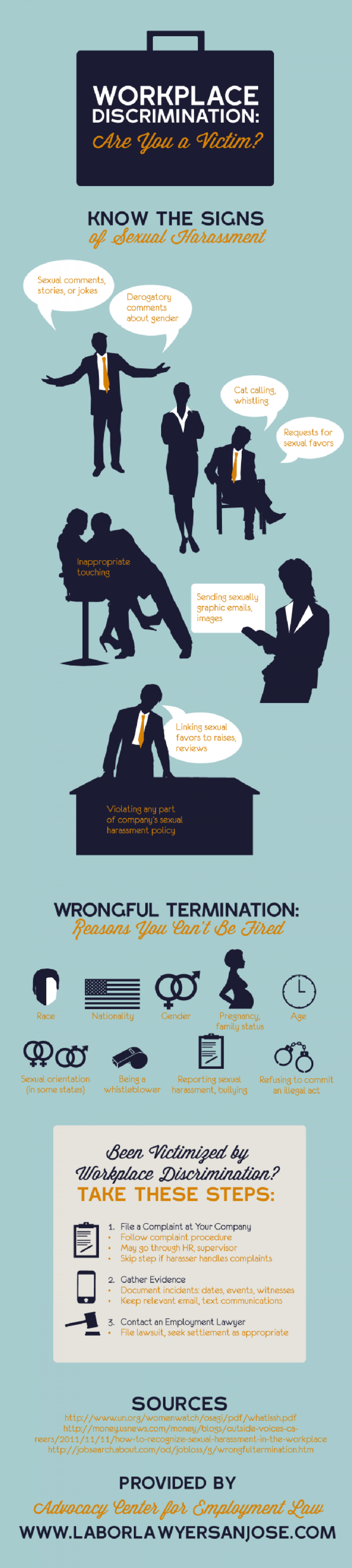 Workplace Discrimination: Are You a Victim? Infographic