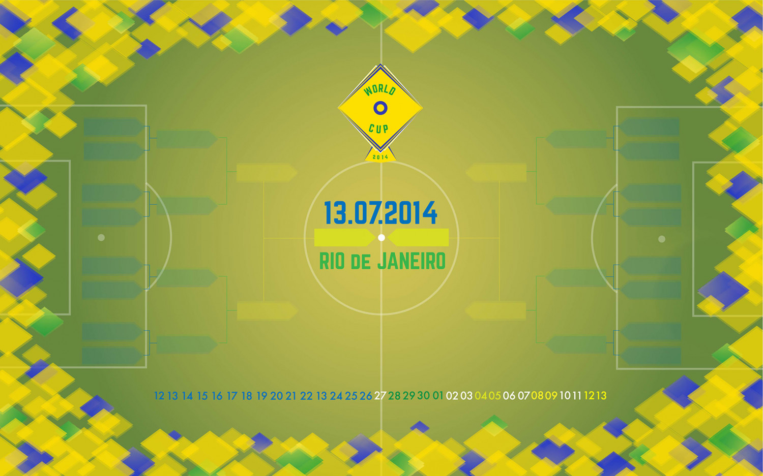 World Cup 2014 Wallpaper Infographic