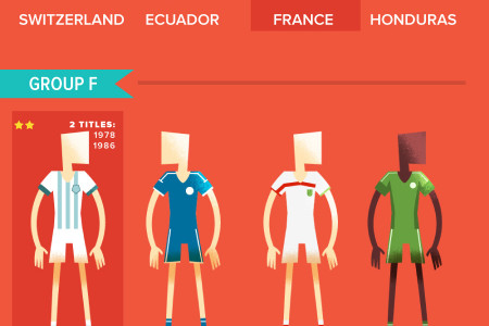 World Cup Brazil 2014 Infographic