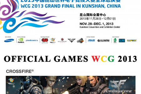 World Cyber Games 2013 Infographic