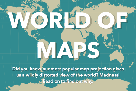 World of Maps Infographic