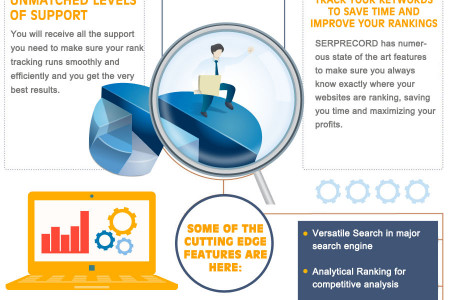 Worlds best SERP Record Rank Tracker tool for SEO Professionals Infographic