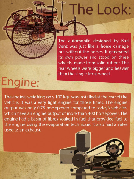 World's First Car! Infographic
