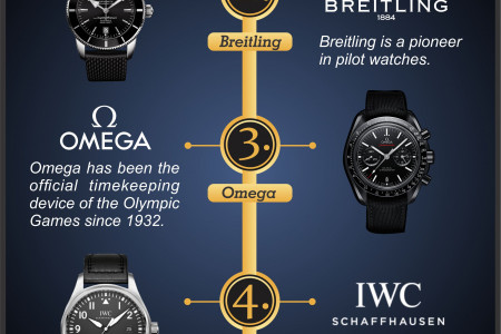 Worlds Top Watch Brands Infographic