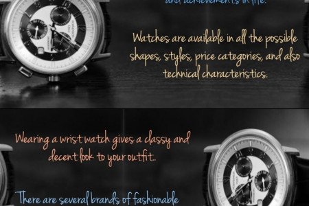 Wrist Watches – Symbols of Prosperity, Fashion, and Innovations Infographic