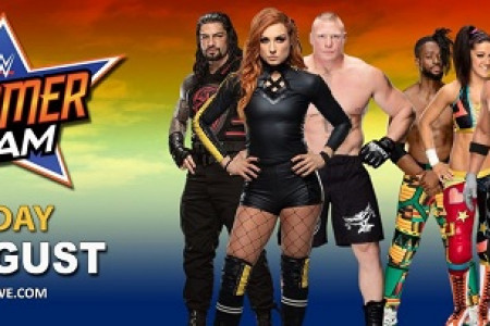 WWE SummerSlam 2019: How To Stream Live for Free, Where to Watch and Matches List Infographic