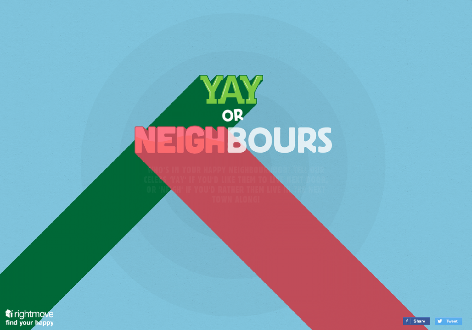 Yay or Neighbours Infographic