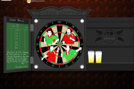 Ye Olde Autonet Staffordshire Classic Darts Open Infographic