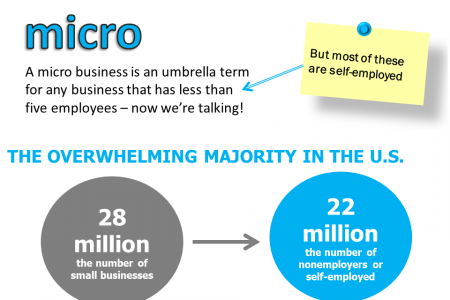 You Are the Majority! Micro Business Domination Infographic