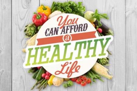 You Can Afford a Healthy Life Infographic