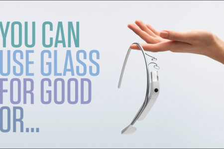 You Can Glass For Good Or... Infographic