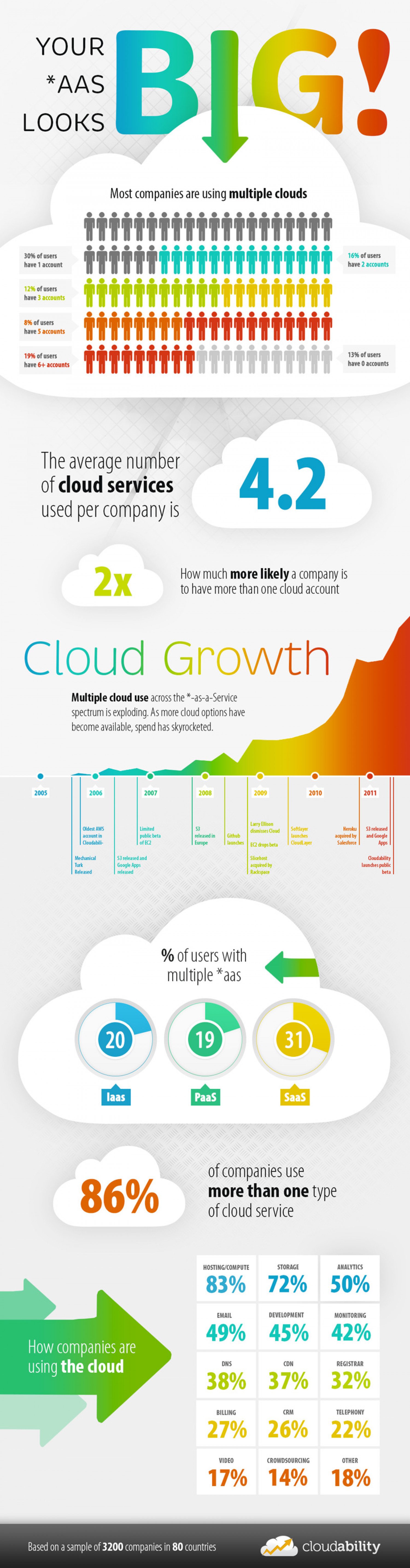 Your *aaS Looks Big! Infographic