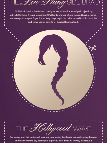 Your Cut Out and Keep Guide to Perfect Party Hair! Infographic
