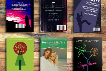 Your Favourite Songs as Novels Infographic