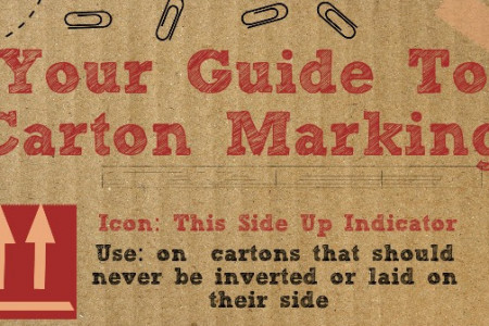 Your Guide To Carton Marking Icons Infographic