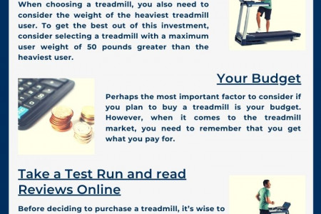 Your Ultimate Guide to Buying a Treadmill for your Home Infographic