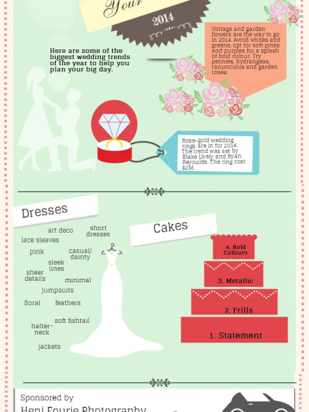 Save the Day Your Wedding 2014 Infographic